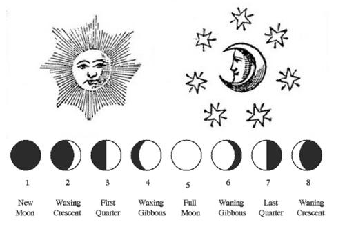 Tumblr Moon Moon Phases Stars And Moon
