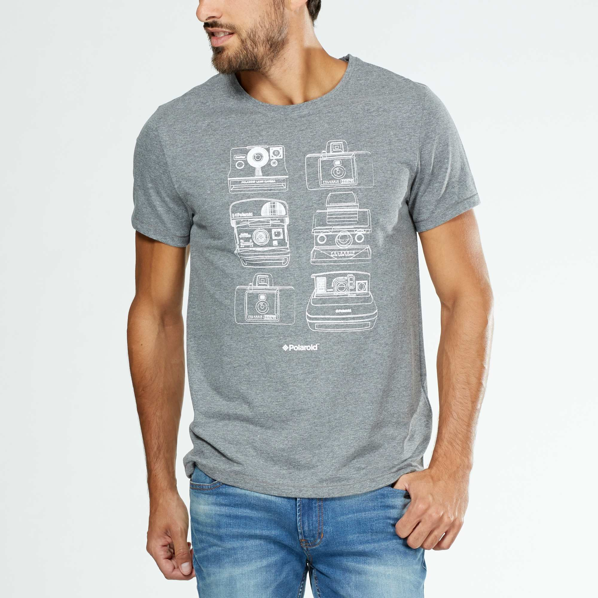 065e6929bec30 Tee-shirt  Polaroid  Homme - Kiabi - 6