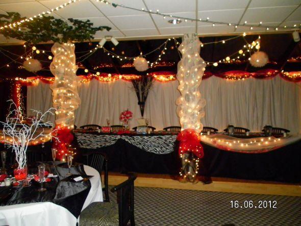 Ideas Here My Diy Head Table Backdrop Wedding
