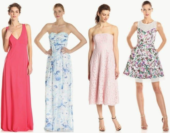 Spring style spring wedding attire what to wear to a for Cocktail dress for outdoor wedding