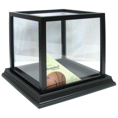 new styles ebe8f bf8a2 Black Basketball Display Case Sports Memorabilia NBA SHADOW BOX