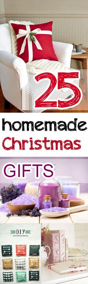 25 Homemade Christmas Gift Ideas Easy gifts, Easy and Gift