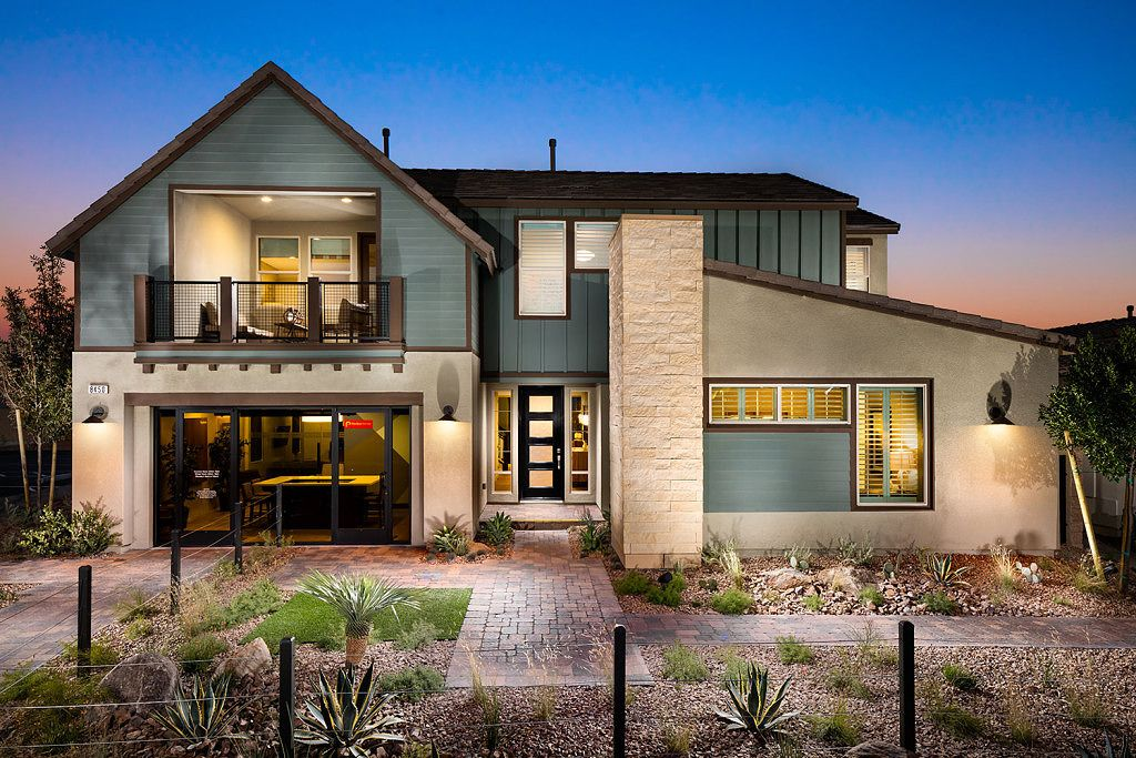 Keystone Plan 3 Modern Farmhouse Elevation Exterior