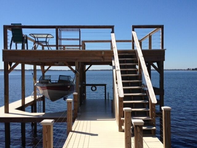 Boathouse With Observation Deck Boathouse Amp Dock Ideas