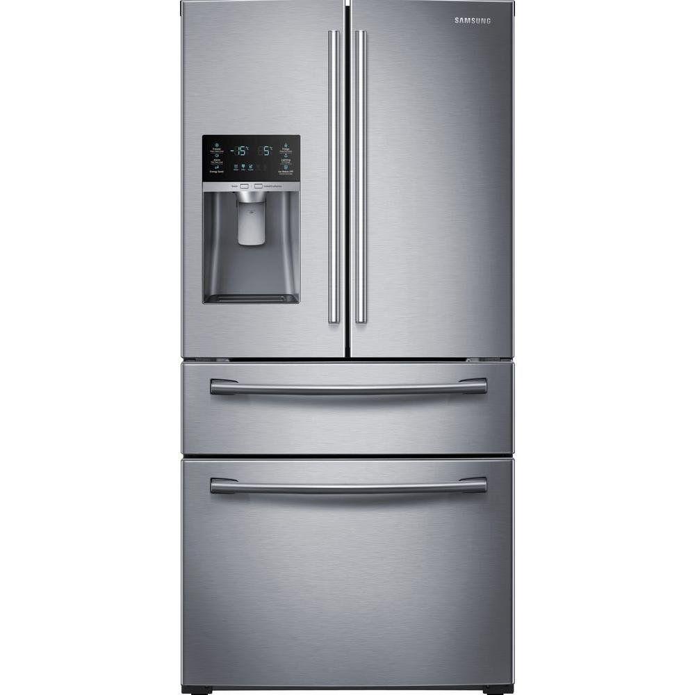 Robot Check Stainless Steel French Door Refrigerator French Door Refrigerator French Door Bottom Freezer Refrigerator