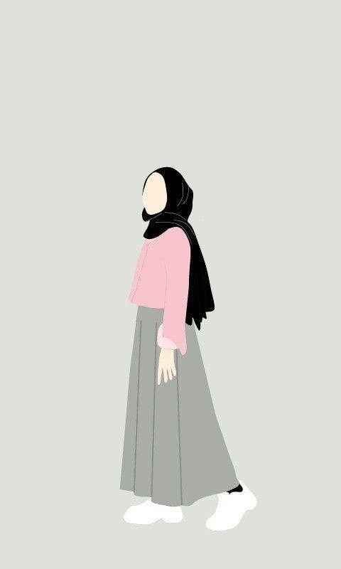 Gambar kartun romantis muslimah nusagates. Gambar Cewek Hijab Kartun Aesthetic Terbaru Gratis In 2021 Ilustrasi Seni Ilustrasi Ilustrasi Lukisan