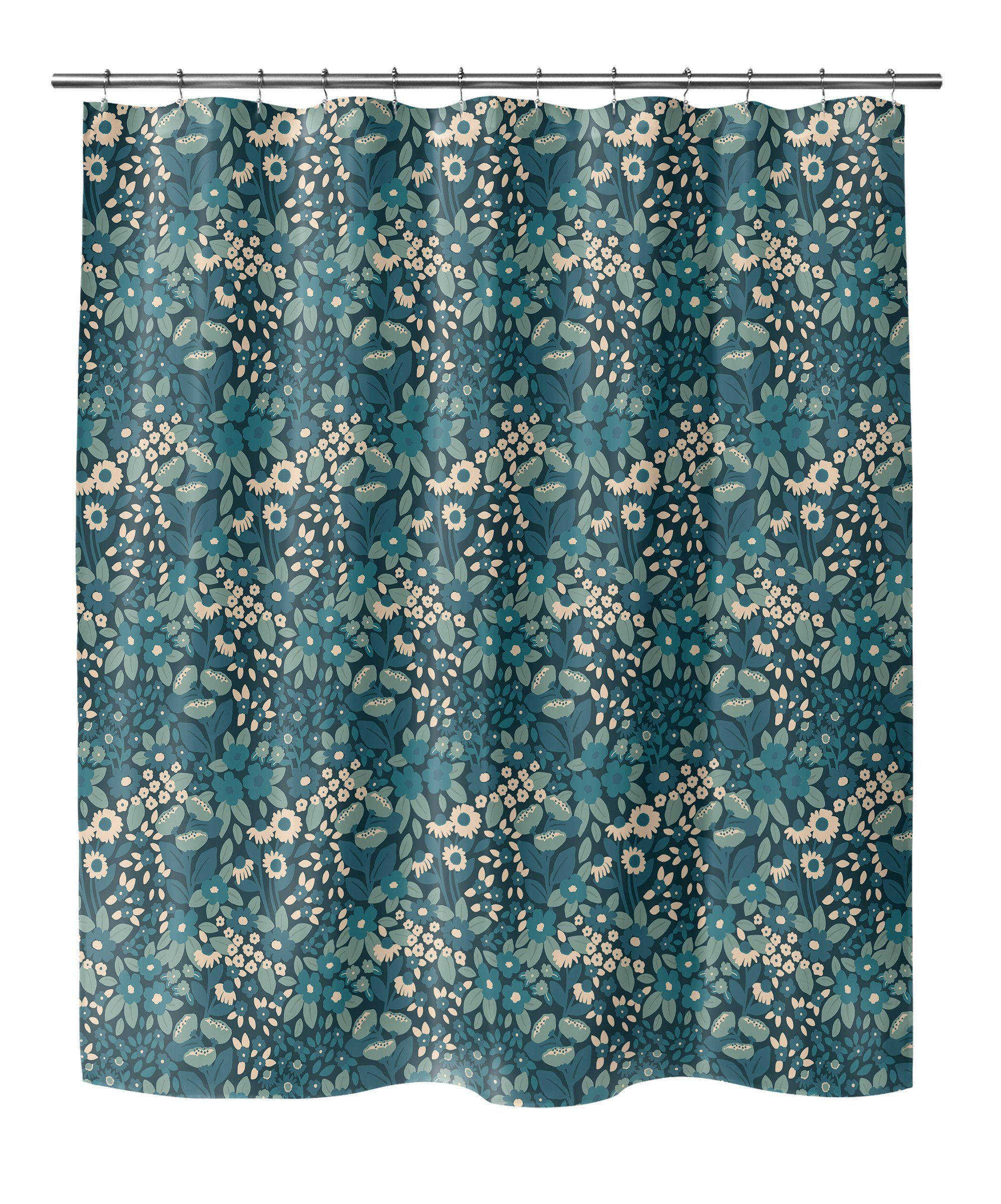 Photo of NATALIE Shower Curtain By Michelle Parascandolo – 70in x 72in