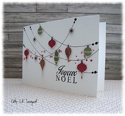 id e de carte de noel fait main 18 diy pinterest cards christmas cards and scrapbooking. Black Bedroom Furniture Sets. Home Design Ideas