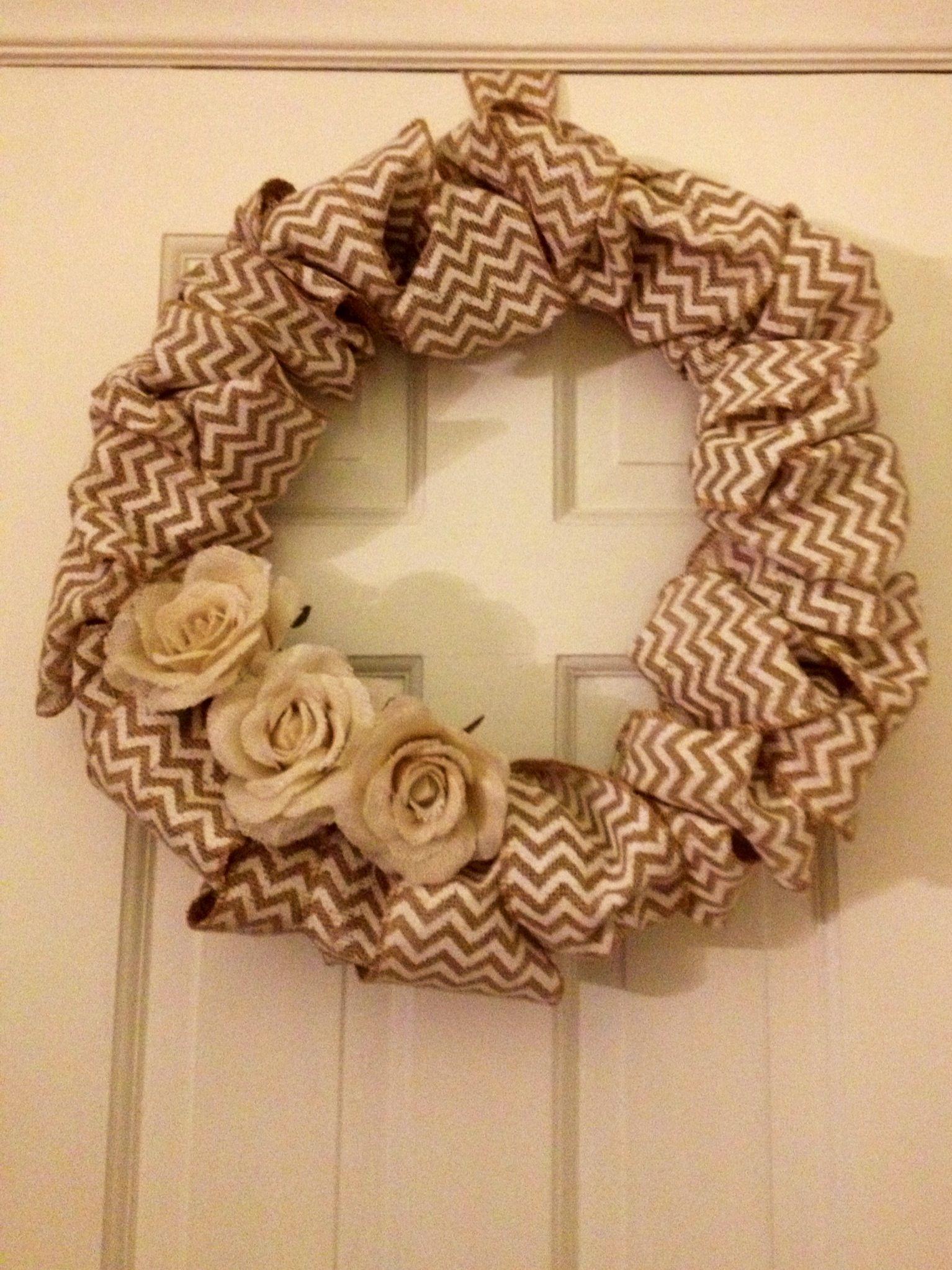 New wreath!