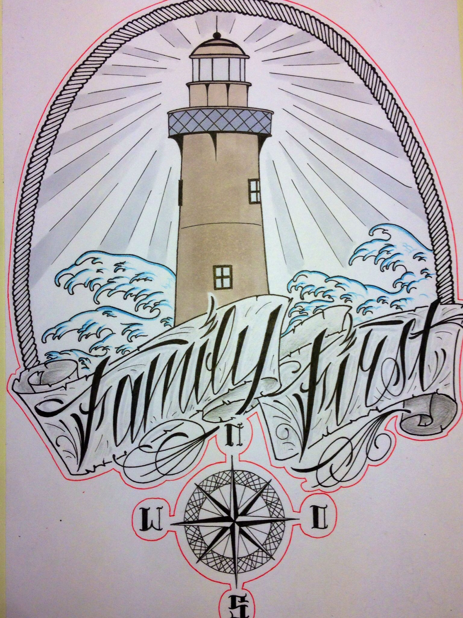 Family First - lettering | Letter art, Tattoo drawings ...