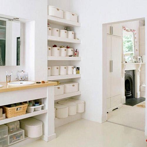 Cómo Ordenar y Almacenar en el Cuarto de Baño   bathrooms   Bathroom ...
