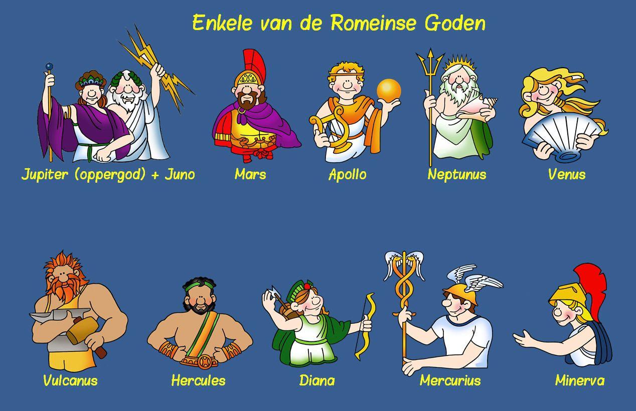 Romeinse Goden Romeinen Romeinse Geschiedenis Romeinse Goden