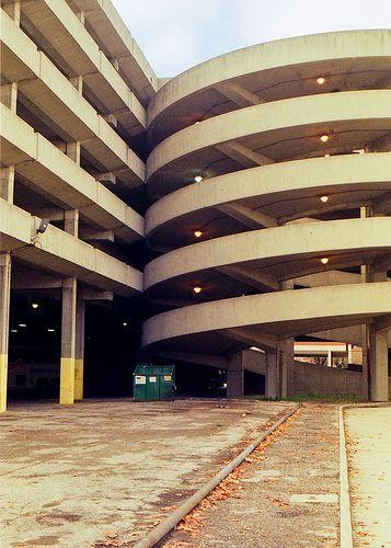 Bus Depot Parking Garage - Dayton, Ohio – 2008 – 35mm Film