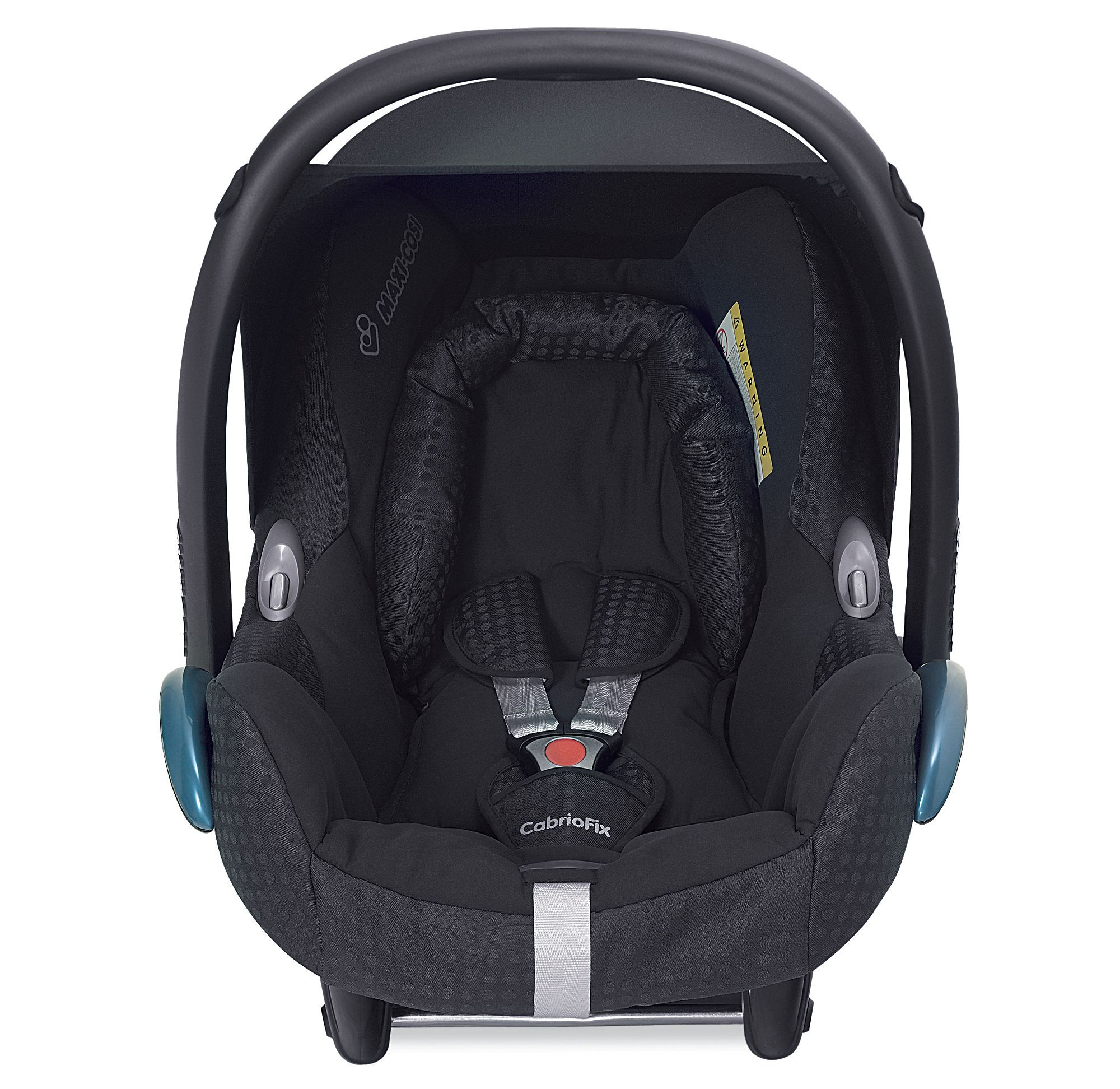 Maxi-Cosi Cabriofix Baby Car Seat - Black Jacquard *Colour Exclusive ...