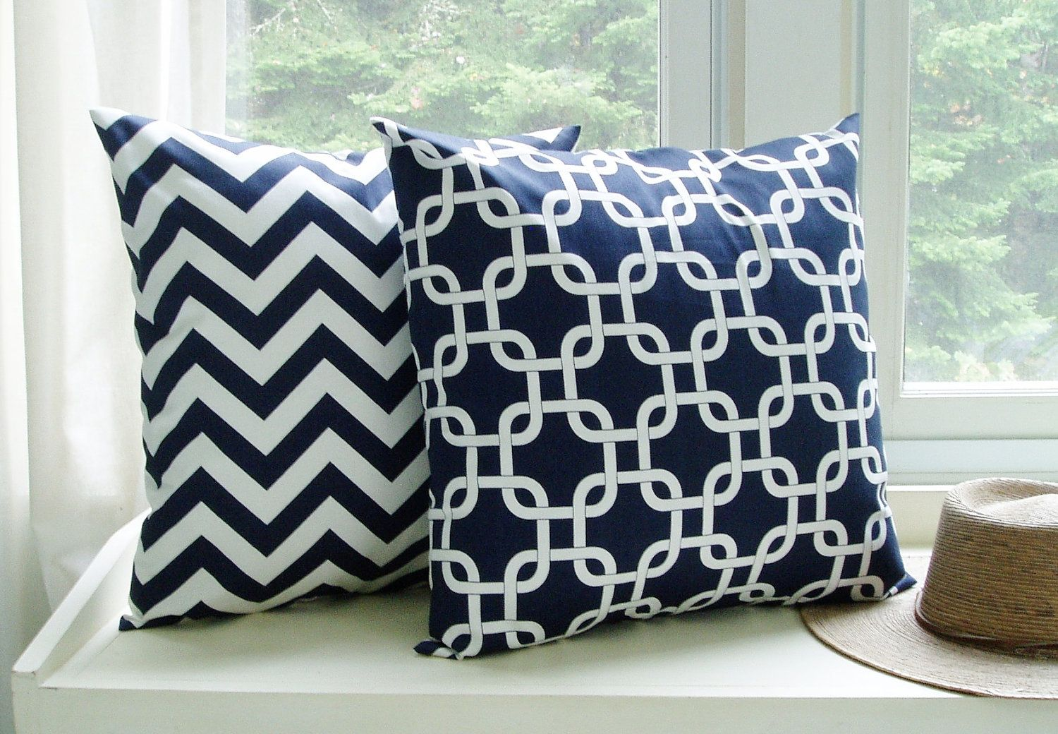 pine decorative cone laylagrayce bait pillows pillow blue pin loop hill