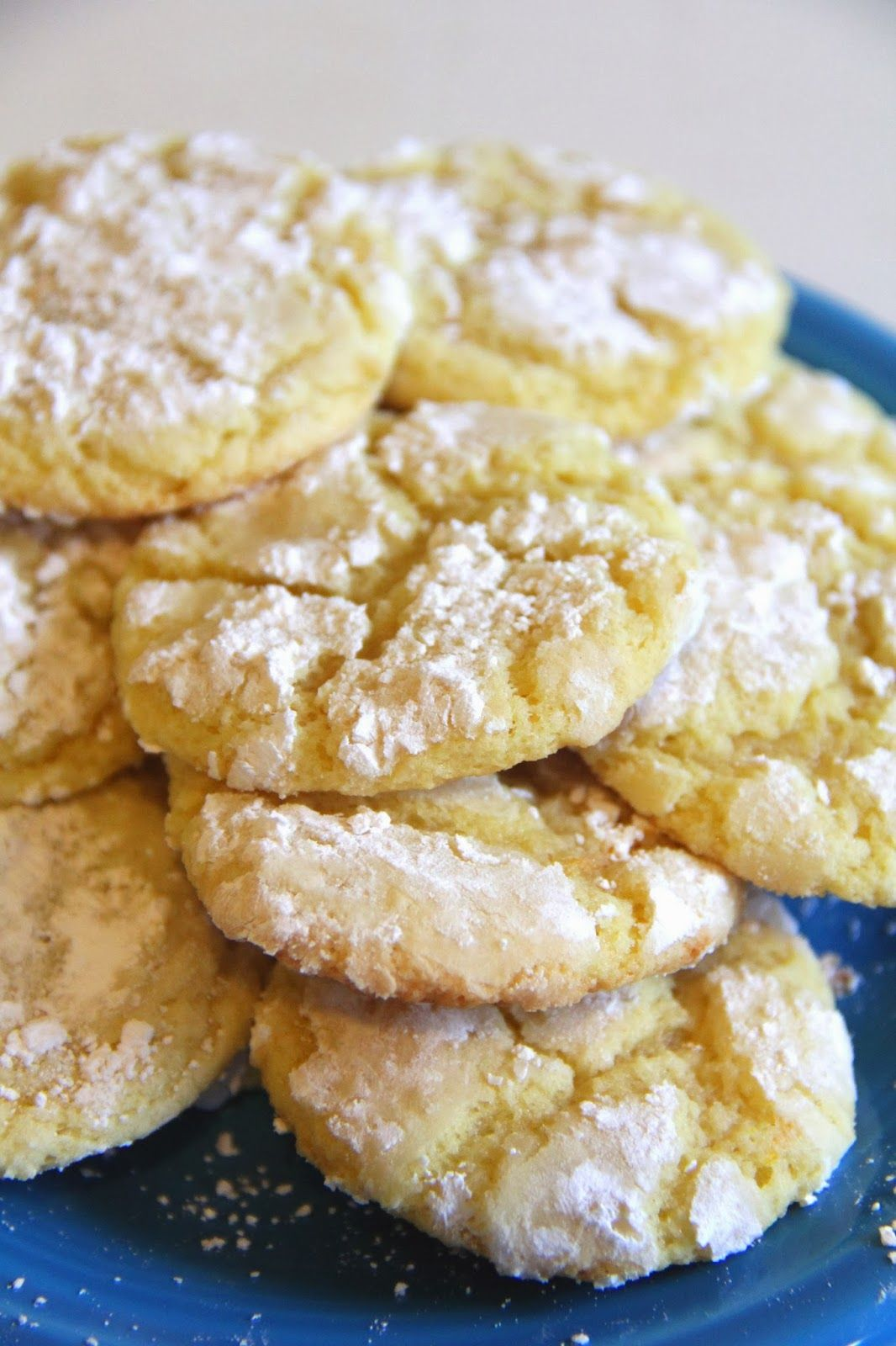 Claire and Janae: Lemon Drop Cookies