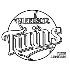 large minnesota twins logo cut out from printabletreatscom