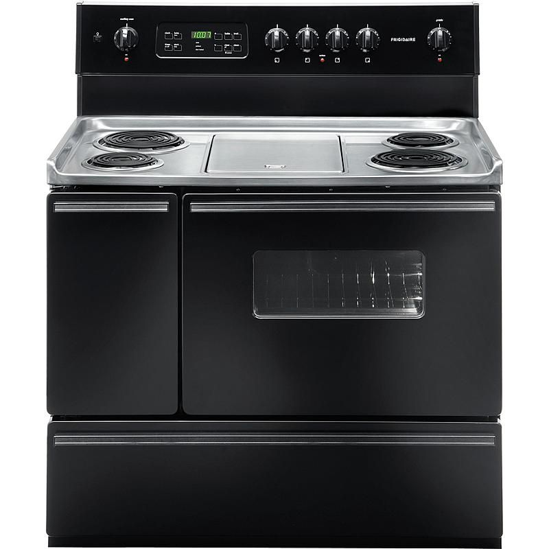 40 Self Clean Electric Range W Coil Elements Sears Outlet