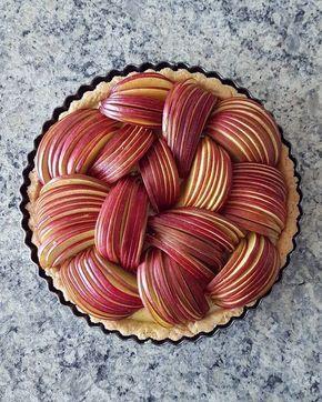 Выкладка яблок в пироге — Кулинарная книга - рецепты с ...