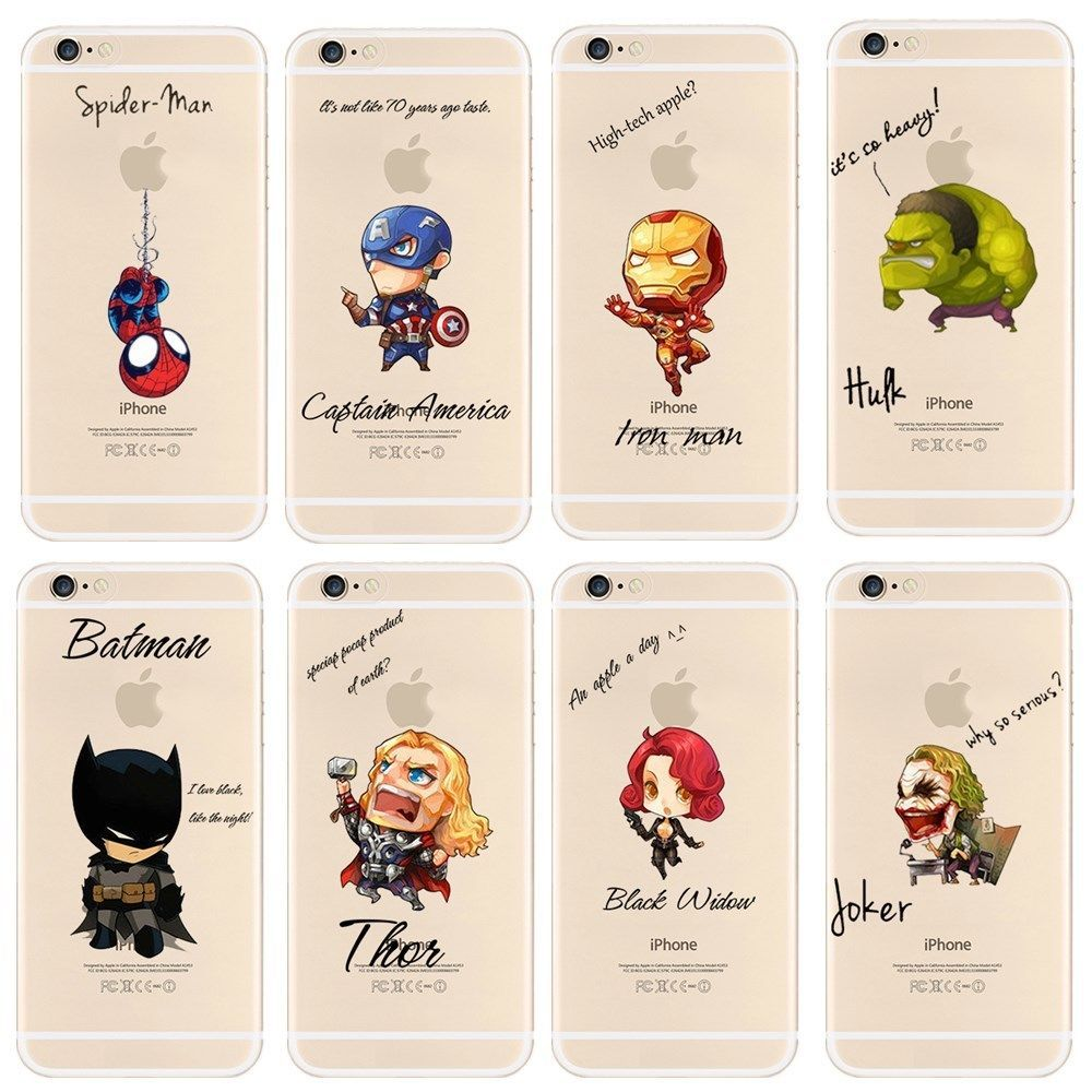 Cool Marvel's The Avengers Cases For iPhone 6 & 6s Free shipping ...