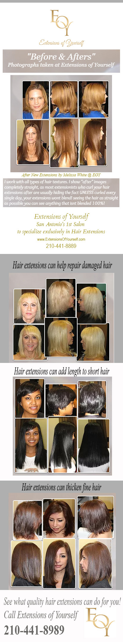 Extensions Of Yourself San Antonios 1st Salon To Specialize