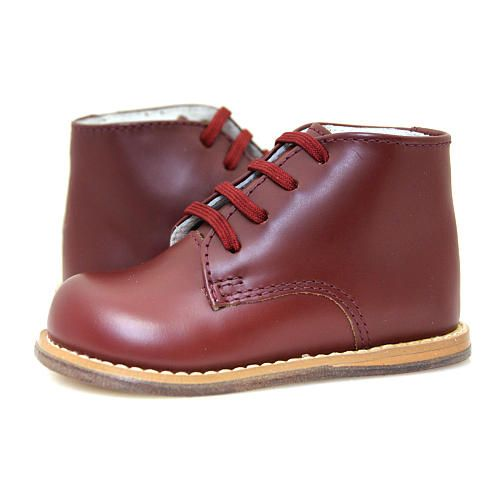 Josmo Boys Burgundy Leather Lace Up Boots Josmo Babies R Us 39 99 Leather Lace Up Boots Baby Dress Shoes Toddler Boots