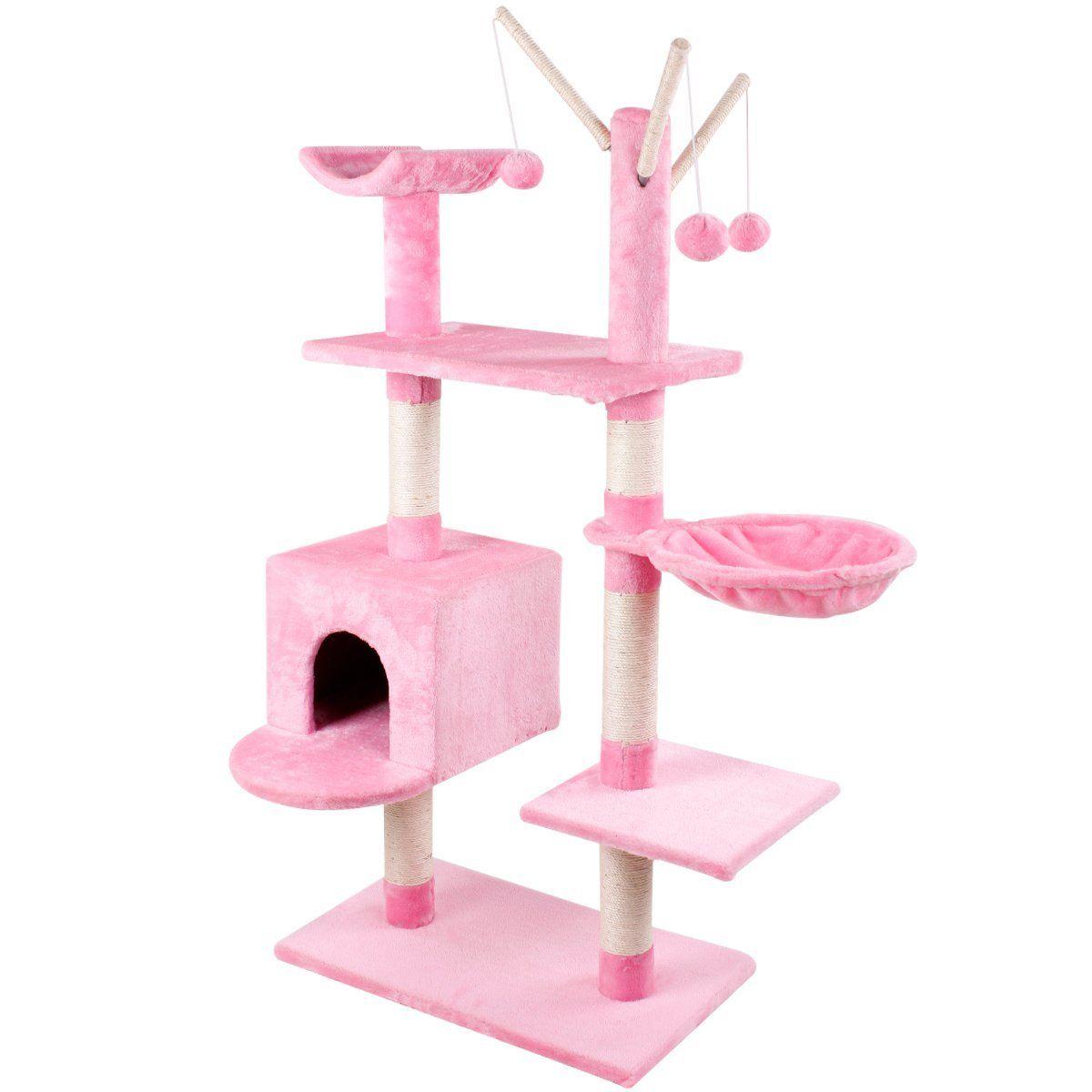 Cat Scratch Post Pink
