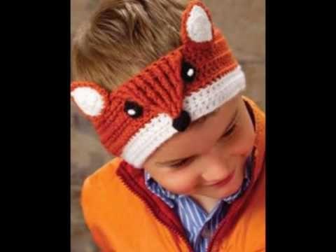 Banda para el Pelo o Diadema a Crochet - YouTube | Patrones ...