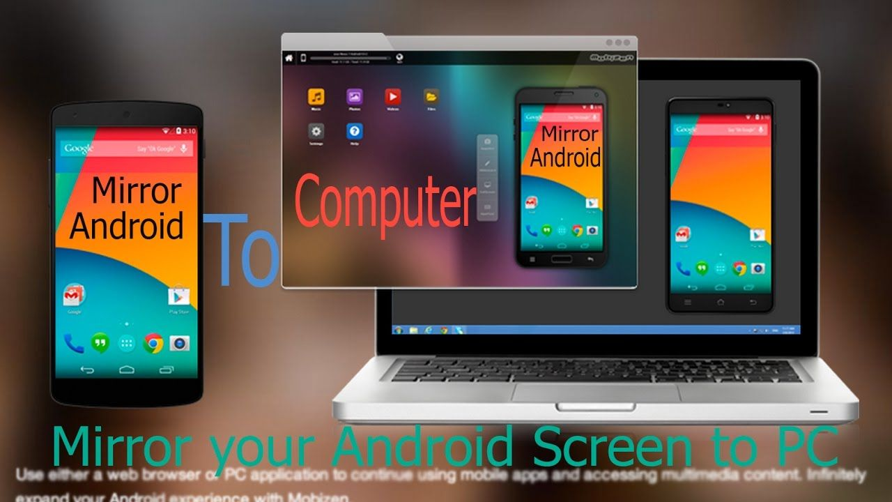 Mirror your Android Screen On PC Using WiFi And USB