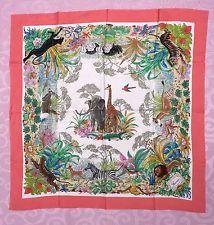 Vintage GUCCI 100% Silk Scarf by V. ACCORNERO Animal Jungle  COLLECTIBLE 71b74875075f