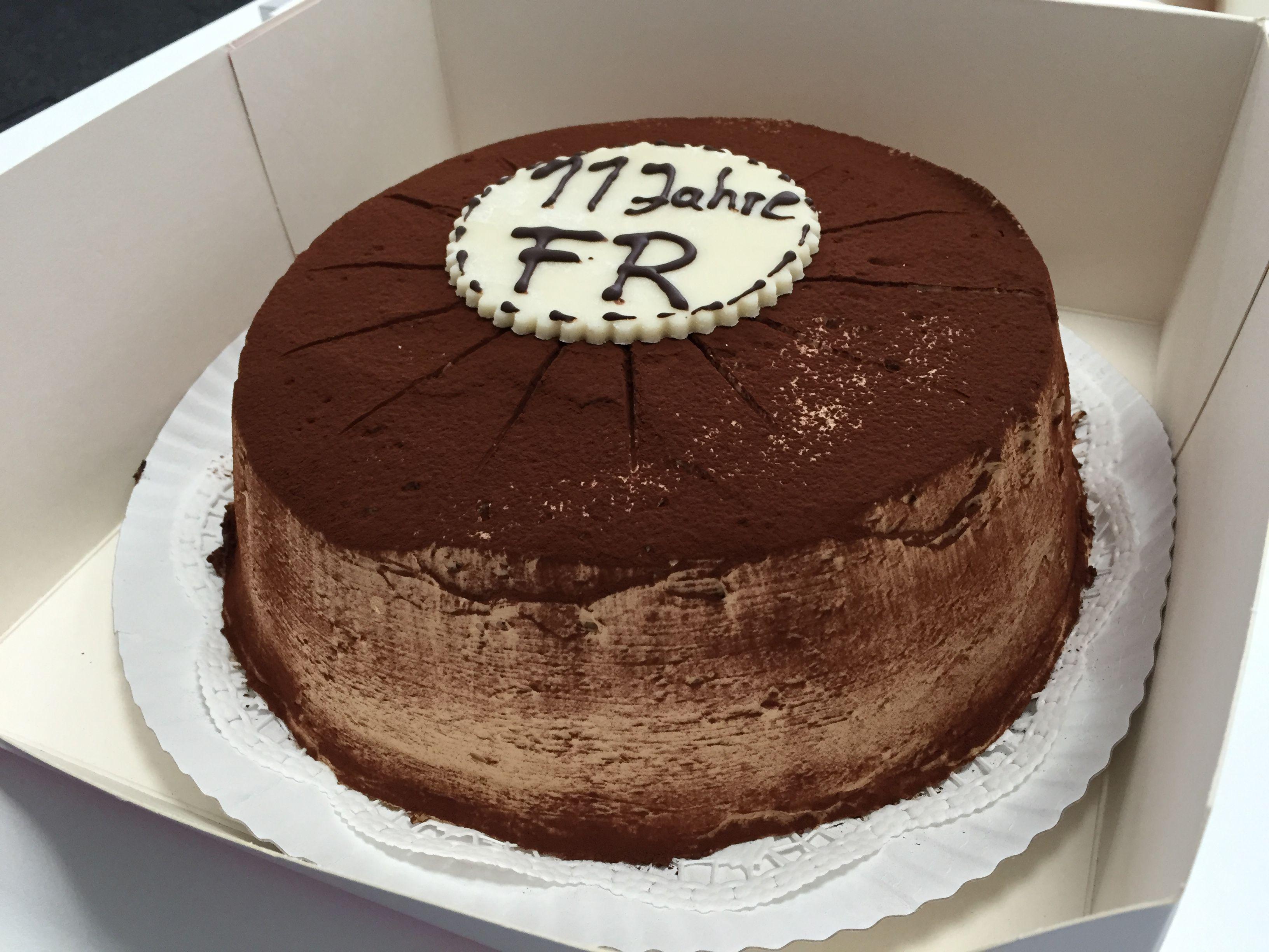 Wir Lieben Fliesen Und Kuchen Ein Kleine Torte Zum 11 Geburtstag
