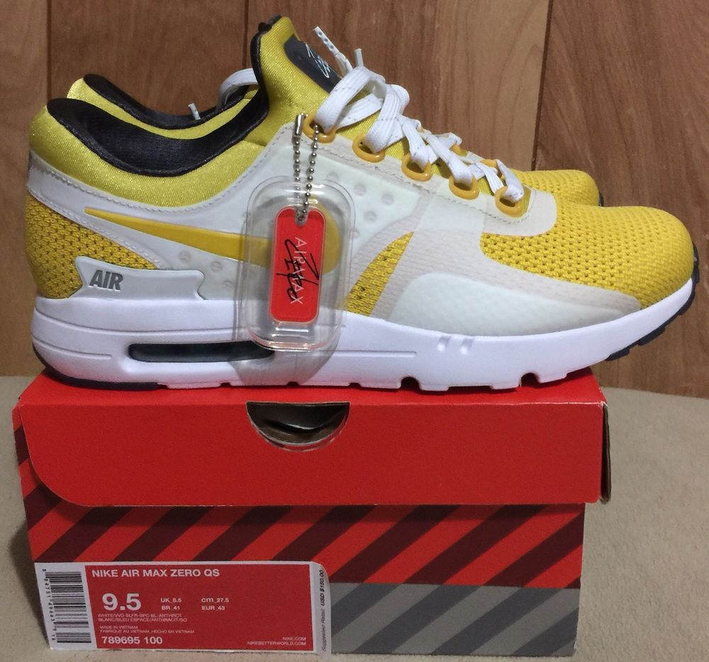 innovative design 1eb51 d15be Nike Air Max Zero Tinker Hatfield Sketch Yellow White mens sz 9.5 BRAND NEW   fashion  clothing  shoes  accessories  mensshoes  athleticshoes (ebay link)