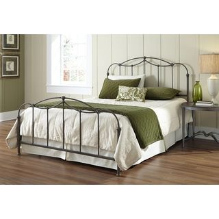 Lacey Round Curved Double Top Arches Victorian Iron King Metal Bed By Inspire Q Classic Wrought Iron Beds Bed Furniture Bed Styling