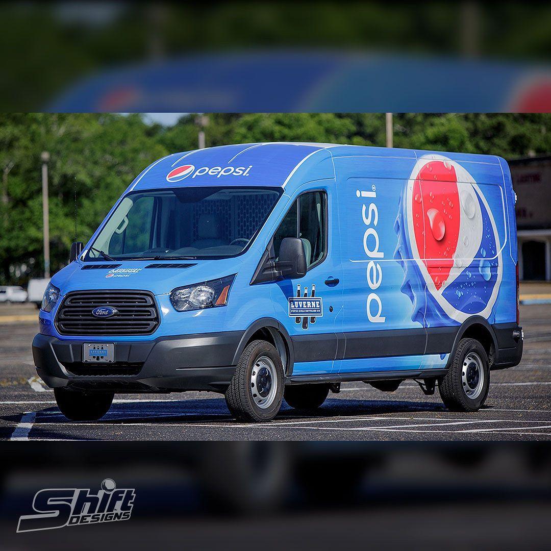 Ford Transit Wrap for Luverne Pepsi-Cola Bottling Company