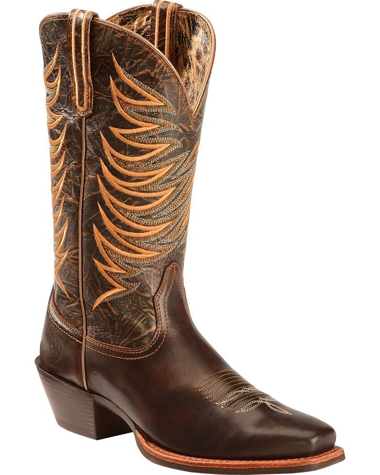 Ariat womens legend legacy performance boots cowgirl
