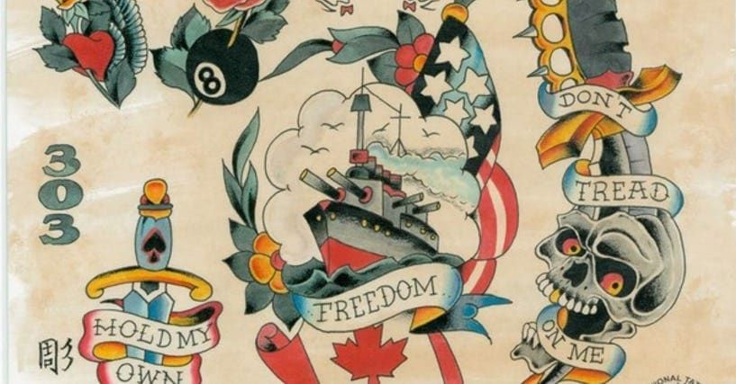 When it comes to classic nautical tattoos, no one breathed new life into the bod…