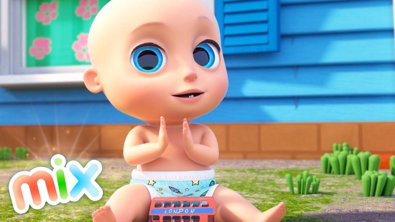 40 Minutos De Las Mejores Canciones Para Bebés El Reino Infantil Canciones Para Bebés Mejores Canciones Canciones Bebes
