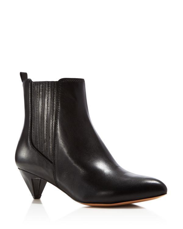 Pour La Victoire Willis Leather Ankle Booties - Compare at $295