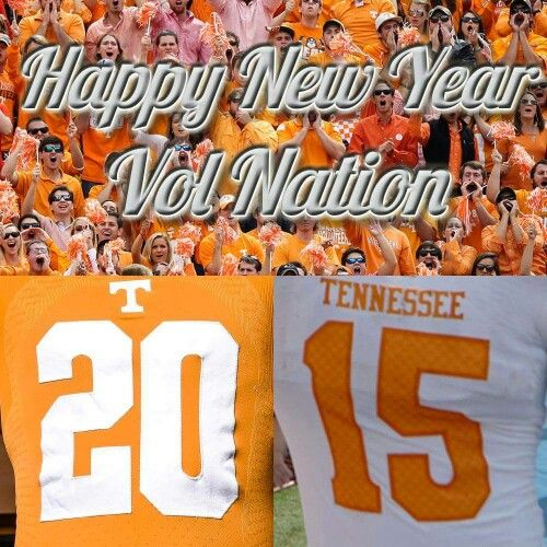 Happy New Year Vol Nation Tennessee Football Tennessee Vol Nation