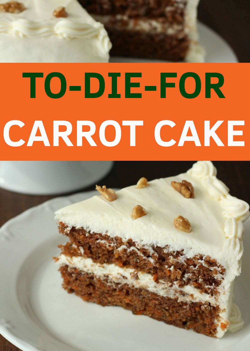 Moist Carrot Cake And Whipped Cream Cheese Frosting Mirlandra S Kitchen Recipe Cake Recipes Desserts Carrot Cake