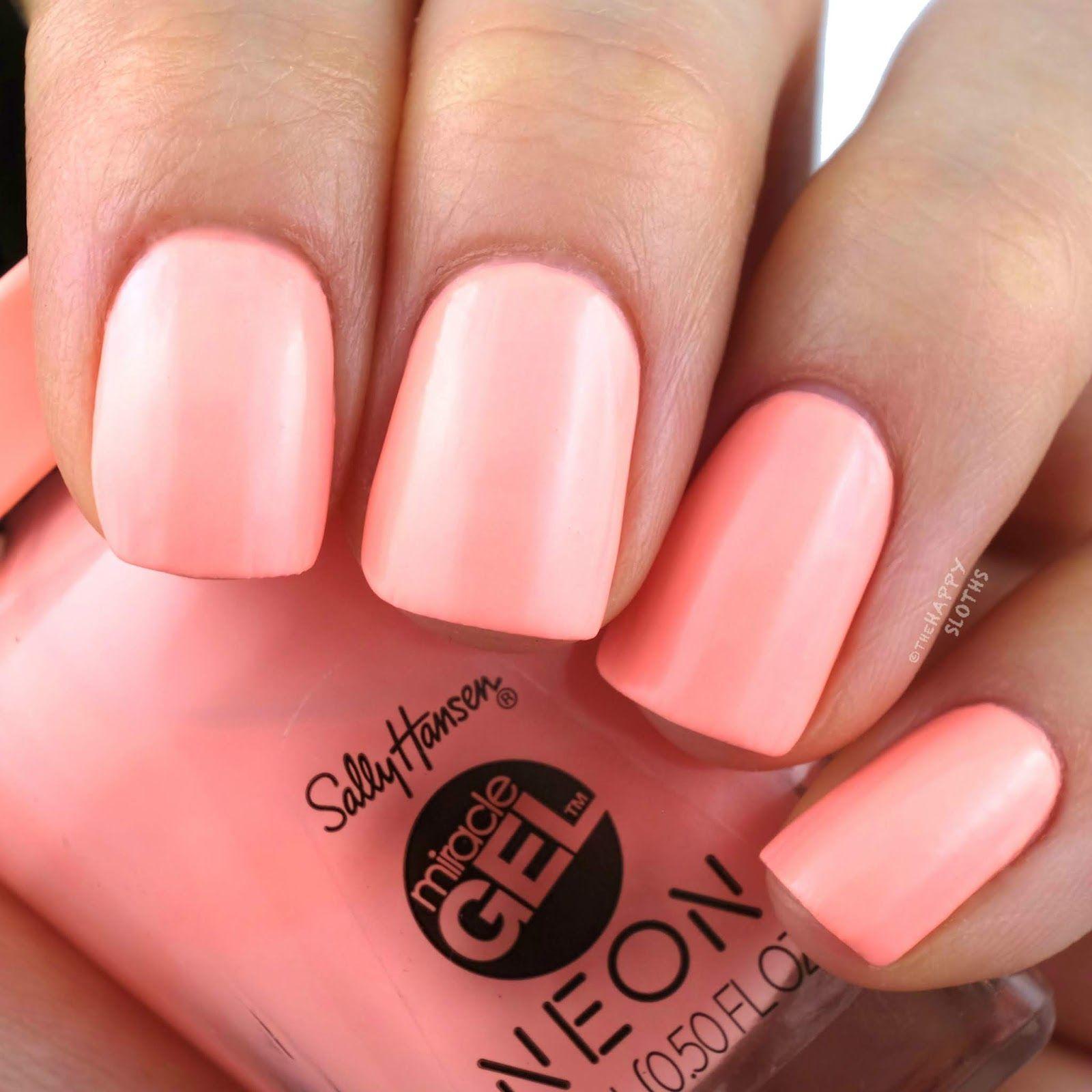Sally Hansen Sally Hansen Miracle Gel Peach Nails Gel Polish