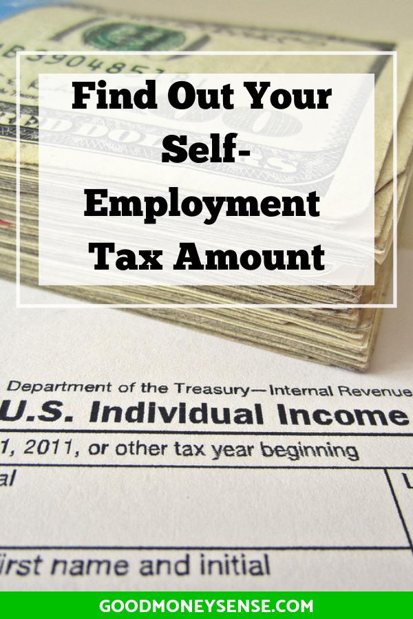 Self Employment Tax Calculator For 2020 Self Employment Self