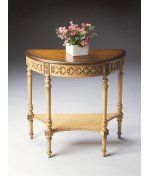 Butler Specialty 7027166 Artists Original Console Table in Pine N' Cream by Butler Specialty. $369.00. Traditional Console Table in Pine N' Cream from the Artists Original Collection by Butler Specialty. Dimensions: 31.00 H 30.00 W - 7027166
