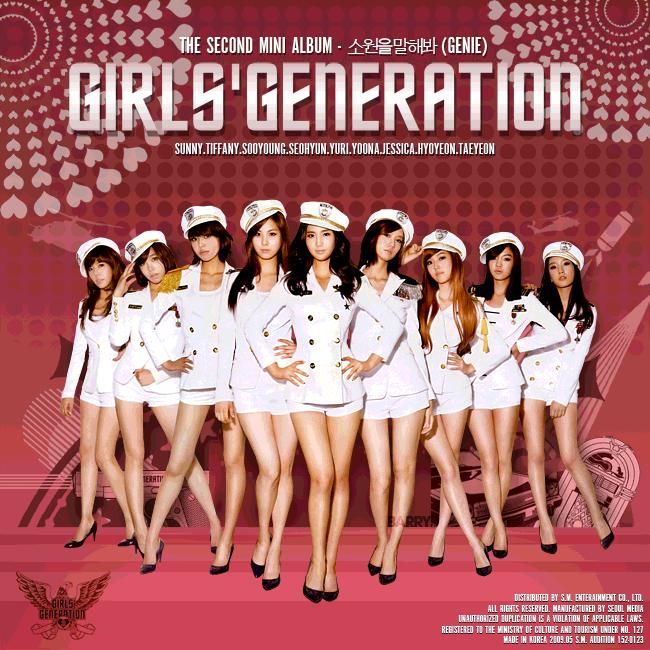 Kết quả hình ảnh cho Girls' Generation: Tell Me Your Wish (Genie)