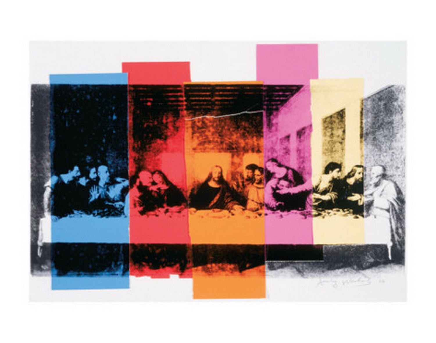 andy warhol detail of the last supper c1986.jpg | Andy Warhol ...