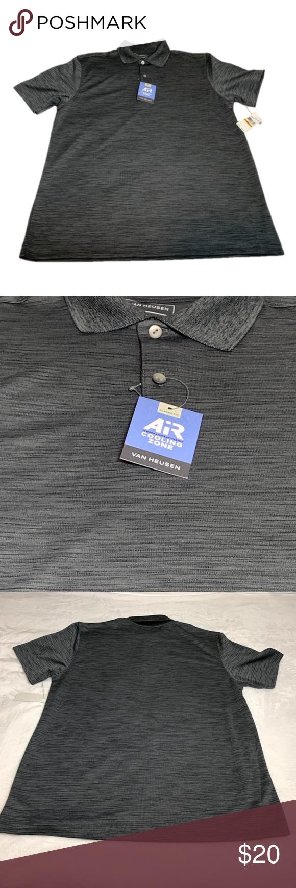 Van Heusen Air Temperature Activated Shirt S New Nwt Fashion Van Heusen Black Vans
