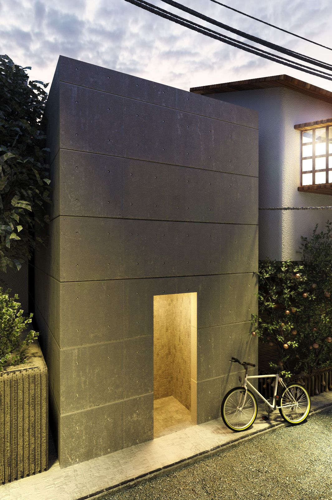 Ando tadao rokko house pinterest - Love Tadao Ando S Use Of Concrete But It Must Get Terribly Cold Azuma House