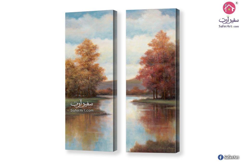 تابلوهات منظر طبيعي سفير ارت للديكور Wall Art Spectacular Art