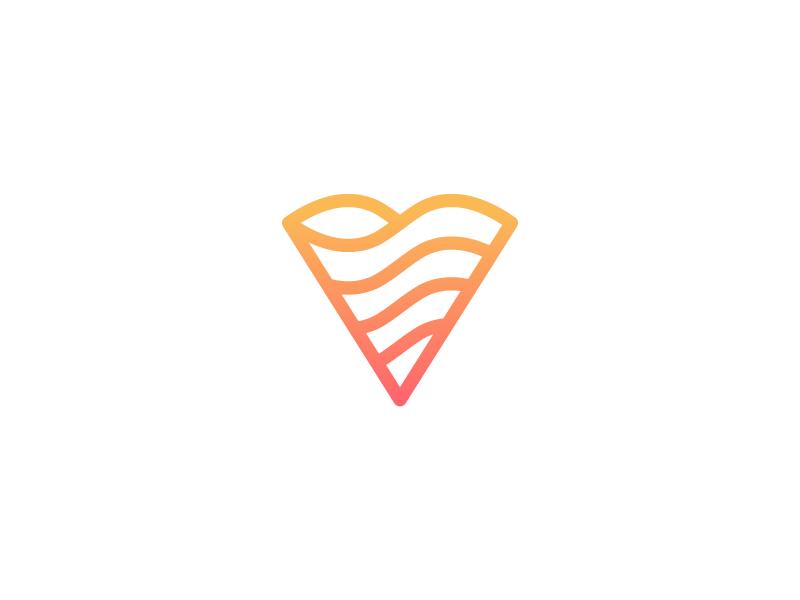 V app player music tone ringtone video symbol monogram shape cool