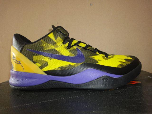 Kobe shoes 2013 Kobe Bryant 8 Yellow Black Purple | kobe
